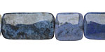 Sunset Dumortierite Thin Pillow & Square 13x13-25mm