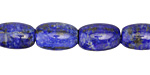 Lapis Tumbled Rice 11-17x9-10mm