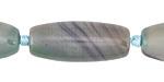 Blue Haze Agate Rice 30-32x14mm
