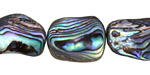 Abalone Freeform Nugget 15-23x12-17mm