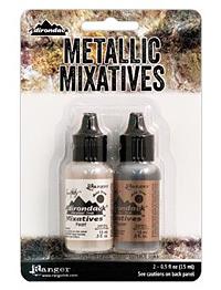 Adirondack Metallic Pearl & Copper Mixative Kit