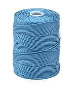 C-Lon Caribbean Blue (.5mm) Bead Cord
