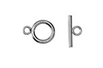 Stainless Steel Toggle Clasp 16x12mm, 16mm Bar