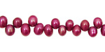 Berry Pink Dancing Drops 6.5-8mm