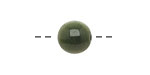 Tagua Nut Forest Green Round 11-12mm