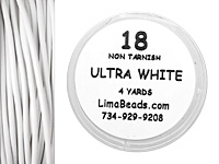 Parawire Ultra White 18 Gauge, 4 Yards
