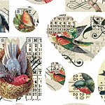 Nunn Design Birds Transfer Sheet
