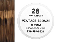 Parawire Vintage Bronze 28 Gauge, 40 Yards