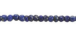 Lapis Faceted Rondelle 4mm - old