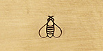 Bee Metal Stamp 5mm