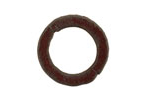 The Lipstick Ranch Rusted Iron Small Circle Connector 24mm