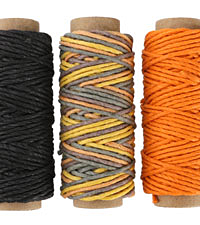 Ginger Spice Hemp Twine 20 lb, 29.5 ft x 3 colors