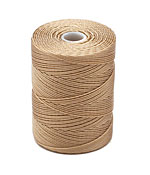 C-Lon Latte Fine Weight (.4mm) Bead Cord