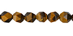 Tiger Eye Star Cut Round 8mm