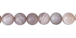 Gray Agate Round 8mm