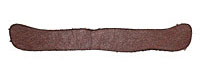 Lillypilly Burgundy Leather Large Bar 9x61mm