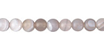 Gray Agate Round 6mm