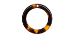 Zola Elements Tortoise Shell Acetate Ring Focal 20mm