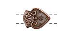 Greek Bronze (plated) 2-hole Tassel Bead 20x15mm