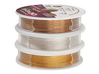 "Soft Flex Trios Extreme Assorted Color .019"" (Medium) 19 Strand Wire 3x10ft."