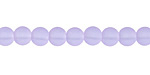 Periwinkle Recycled Glass Round 6mm
