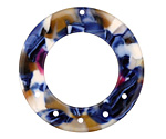 Zola Elements Twilight Acetate Donut Chandelier 27mm