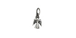 Nina Designs Sterling Silver Tiny Angel Charm 6x14mm