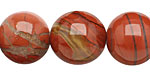 Red Bend Jasper Round 18mm