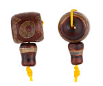 Tibetan (Dzi) Agate Barrel Guru Bead 14-15mm