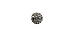 Black Diamond Pave Round 8mm