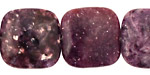 Lepidolite Puff Square 20mm