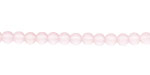 Blossom Pink Recycled Glass Round 4mm