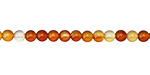 Carnelian (natural) Round 4mm