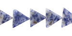 Brazil Sodalite Triangle 11-12x13mm