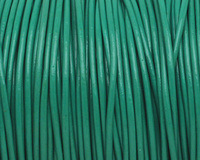 Light Green Round Leather Cord 1.5mm