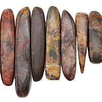Red Creek Jasper (Dark) Graduated Stick 8-10x12-52mm