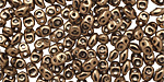 Bronze SuperDuo 2x5mm Seed Bead