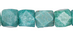 Russian Amazonite Faceted Nuggets 12-14mm