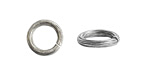 Nunn Design Antique Silver (plated) Etched Jump Ring 12mm