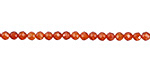 Poppy Cubic Zirconia Faceted Round 3mm