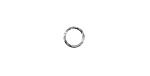Silver (plated) Finely Textured Jump Ring 7mm