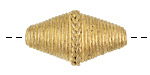 African Brass Corrugated Braided Rice 30-33x16-18mm