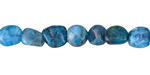 Pacific Blue Apatite Pebble 6-10x6-8mm