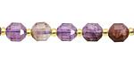 Purple Phantom Quartz (Auralite-23) Energy Tube 8x7mm