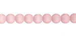 Blossom Pink Recycled Glass Round 6mm