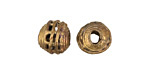 African Brass Basket Round 10-12mm