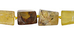 Yellow Opal Brick 11-15x8-10mm