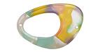 Watercolor Acetate Open Freeform Focal Link 32x22mm