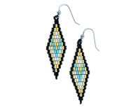 Diamonds of the Desert Earrings Pattern