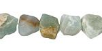Black Gold Amazonite (matte) Rough Nugget 11-18x13-20mm